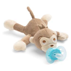 PHILIPS AVENT ultra soft snuggle majmun plišana igračka s dudom varalicom SCF348/12