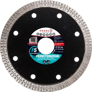 DRONCO dijamantna rezna ploča za keramiku 115x1,2 f5 cerasped