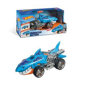 Hot Wheels L&S Monster Sharkruiser, 23 cm
