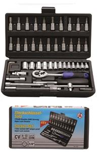 """BGS Set nasadnih ključeva i bitova 4-13mm 1/4"""" 46dij. Kraf. 2142"""