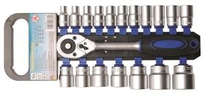 "BGS Set nasadnih ključeva 8-32mm 1/2"" 19 dj. Kraft. 15110 promo"