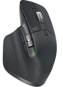 Logitech MX Master 3, Graphite, 910-005694, Laserski, Wireless, 4 000 DPI