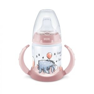 NUK FC bočica Winnie roza 150 ml 6-18 mj