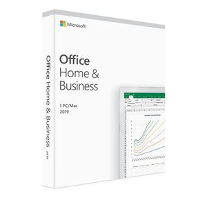 Microsoft Office Home and Business 2019 Medialess P6 CRO, T5D-03304
