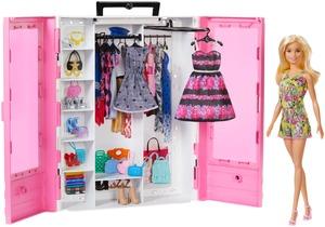Barbie modni ormar s lutkom i dodacima