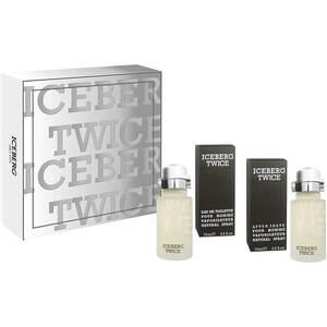 Iceberg EDT Gift Set: EDT 75 ml - Aftershave 75 ml, muški poklon set