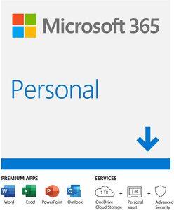 Microsoft 365 Personal AllLng Sub 1YR, Online, QQ2-00012