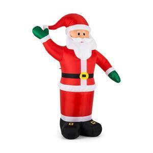 OneConcept Mr. Klaus djed božićnjak na napuhavanje