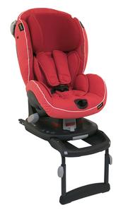 BeSafe autosjedalica iZi Comfort X3 ISOFIX (9-18kg), Sunset crvena