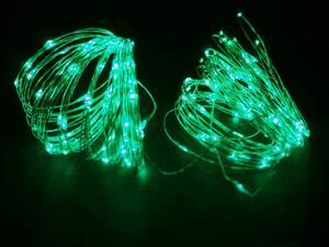 LED lampice niz 200L/20m zelena