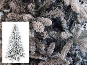 Umjetna božićna jelka sniježna 180cm Luna, promjer 112cm