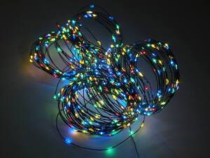 LED lampice niz 600L/30m multicolor