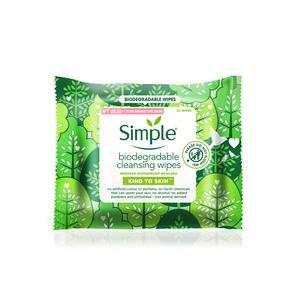 Simple Kind To Skin Maramice za čišćenje lica, 20 kom