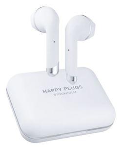 Happy Plugs, Air1 Plus, Earbud bežične slušalice, bijele