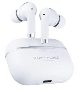 Happy Plugs, Air1 ANC, bežične slušalice, bijele