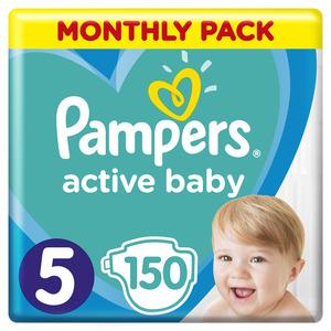 Pampers Active Baby mjesečno pakiranje S5 150 kom