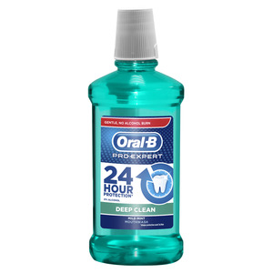Oral-B Vodica za ispiranje usta Pro-Expert Deep Clean 500 ml