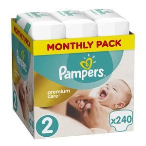 Pampers Premium Care mjesečno pakiranje S2 240 kom