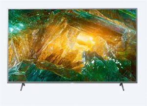 Sony LED televizor 49XH8077, 4K X-Reality PRO, Android, Smart, Zaslon TRILUMINOS, Crni