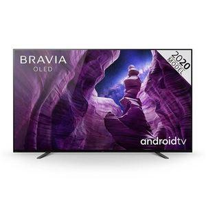 Sony OLED televizor KD55A8BAEP, 4K, Picture Processor X1 Ultimate, 4K X-Reality PRO, Android, Smart, Zaslon TRILUMINOS, Crni