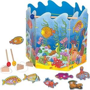 GOKI društvena magnetna igra Ribice