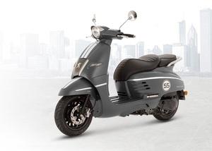 Peugeot skuter Django 50 2T sport - Mad Grey