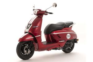 Peugeot skuter Django 50 2T sport - Satin Cherry Red