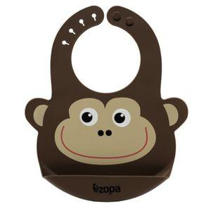 Zopa silikonski podbradak Monkey