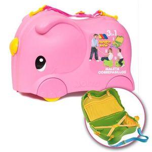 Molto kofer Smiler deluxe pink