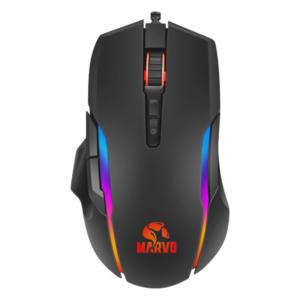 MARVO PRO G945, žičani miš, RGB osvjetljenje, 10 000 DPI