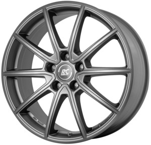 Aluminijski naplatak RC Design RC32 7,5x17 5/112 ET27 BM1 FGM (Ferric Grey Matt)  - EAN kod 4250996333644