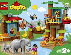 LEGO 10906 Tropski otok