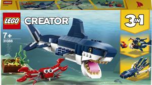 LEGO Creator Bića iz morskih dubina 31088