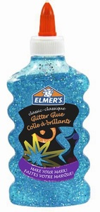 ELMERS Ljepilo glitter PLAVO 177 ml