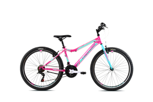 "CAPRIOLO bicikl MTB DIAVOLO DX 26""/18HT rozo/tirkizna"
