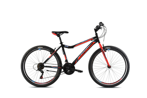 "CAPRIOLO bicikl MTB DIAVOLO DX 26""/18HT crno/crveni"
