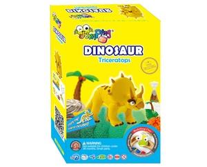JumpingClay Triceratops