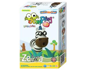 JumpingClay zebra