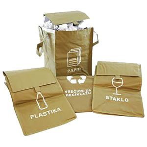 Vreće eko za razvrstavanje smeća 35x51,5 cm 4/1