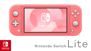 Nintendo Switch Console Lite coral + Animal Crossing : New Horizons + 3mj. Nintendo pretplate