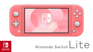 Nintendo Switch Console Lite coral + Animal Crossing : New Horizons + 3mj. Nintendo pretplate