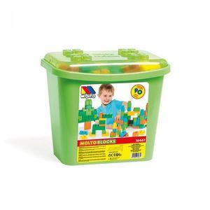 Molto kutija sa kockama 90 kom green