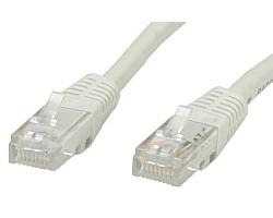 Roline VALUE UTP mrežni kabel Cat.5e, 1.0m, sivi