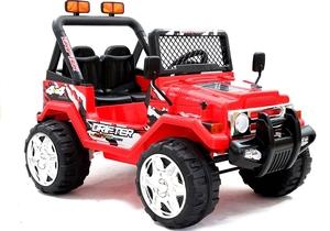 Licencirani auto na akumulator Jeep Raptor crveni