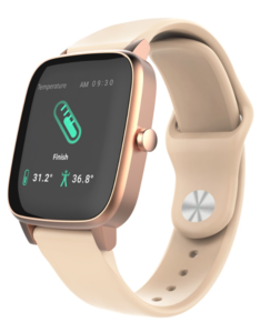 Vivax LifeFIT, pametni sat, praćenje temperature tijela 24/7, Zlatni