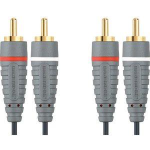 Bandridge BAL4202, audio kabel 2XRCA - 2XRCA, 2.0 m