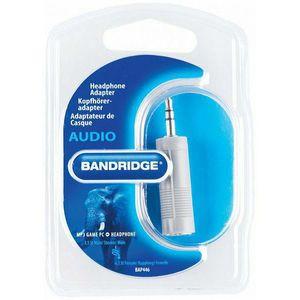 Bandridge BAP446, audio adapter 3.5 mm m - 6.3 mm ž