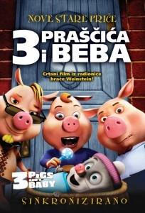 Tri Praščića i Beba DVD