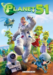 DVD crtići - Planet 51