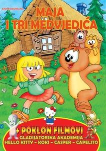 DVD crtići - Maja i Tri Medvjedića